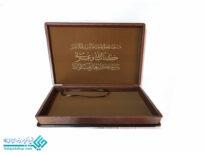 قاب قرآن چوبی mdfرحلی