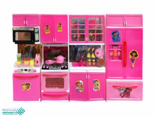 ست آشپزخانه 4 تکه اسباب بازی
